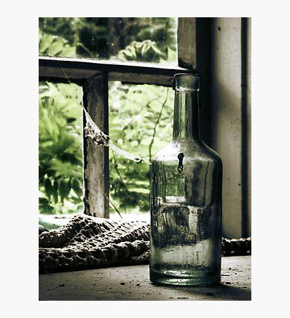 18.6.2010: Bottle full of Oblivion Photographic Print