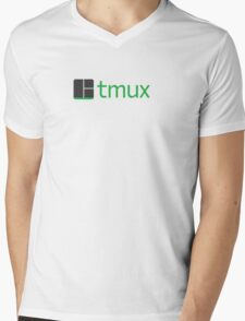 tmux Mens V-Neck T-Shirt