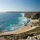 View from Cape Spencer Lighthouse. by Mick Smith