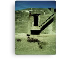 German Bunker Canvas Print