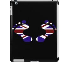 UK Footprints iPad Case/Skin