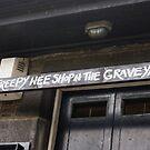 the creepy wee shop in the graveyard by BronReid