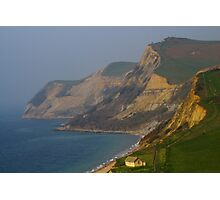 Cliffs At Jurassic Coast, Dorset Photographic Print