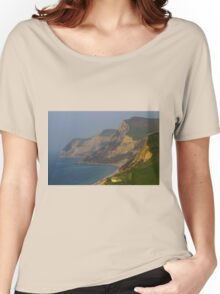 Cliffs At Jurassic Coast, Dorset Women's Relaxed Fit T-Shirt