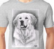 Golden Retriever Male Portrait Unisex T-Shirt