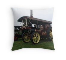 Old Steam Engine 2 Throw Pillow
