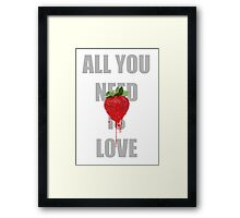 All You Need Is Love - Beatles Tribute Framed Print