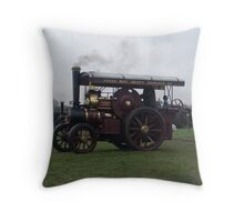 Old Steam Engine 5 Throw Pillow