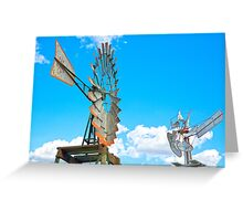 Wacky Windmills.... Greeting Card