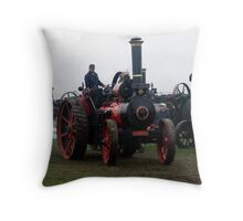 Old Steam Engine 8 Throw Pillow