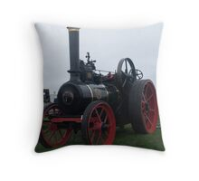 Old Steam Engine 11 Throw Pillow