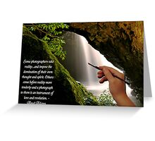 Some Photographers........Ansel Adams Greeting Card