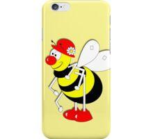 Cute Cartoon Buzzy Bee  iPhone Case/Skin