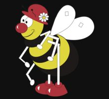 Cute Cartoon Buzzy Bee  Kids Clothes