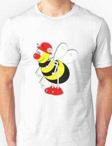 Cute Cartoon Buzzy Bee  Unisex T-Shirt