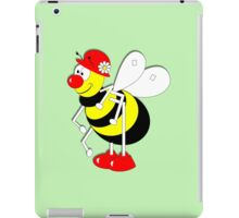 Cute Cartoon Buzzy Bee  iPad Case/Skin
