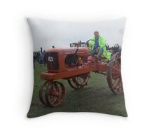 Old Tractor Allis Chalmers Throw Pillow