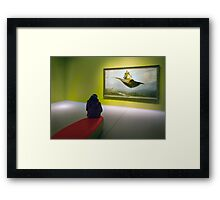 Flying carpets. Framed Print