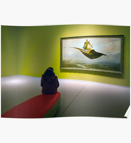 Flying carpets. Poster