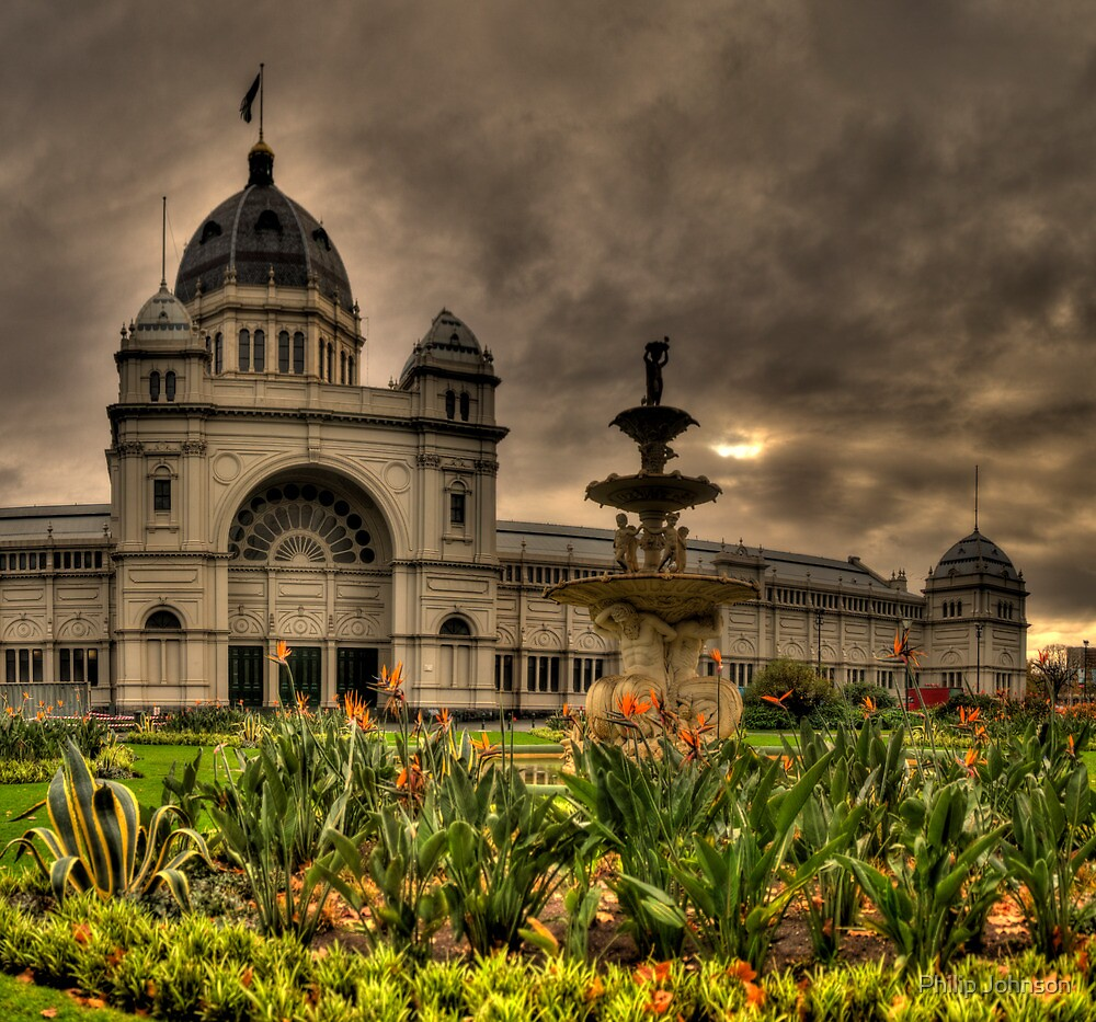 Victorian Majesty #3 , Melbourne -Royal Exhibition Building & Carlton Gardens - The HDR Experience by Philip Johnson