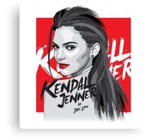 Kendall Jenner Canvas Print