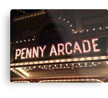 Penny Arcade Metal Print
