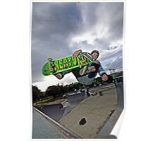 Front side air Poster