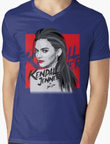 Kendall Jenner Mens V-Neck T-Shirt