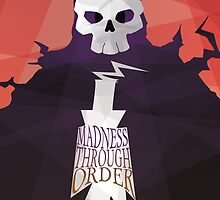 Madness Through Order - Soul Eater Print by CainVoorhees