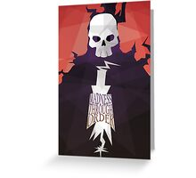 Madness Through Order - Soul Eater Print Greeting Card