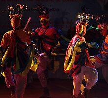 The tribal dance # 3 by debjyotinayak