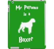 My Patronus is a Boxer (Different Layout) iPad Case/Skin