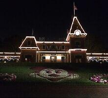 Disney Train Station by SarenaInDisney