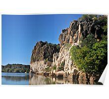 Geike Gorge Western Australia Poster