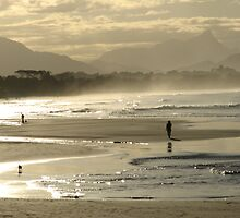 Shimmering from Byron Bay to Mt. Warning by Louise Linossi Telfer