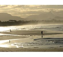 Shimmering from Byron Bay to Mt. Warning Photographic Print