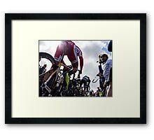 Loïc Chetout (Team Cofidis) Framed Print