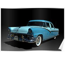 1956 Ford Fairlane Poster