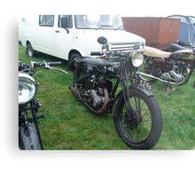 Old Ariel Motorbike Metal Print