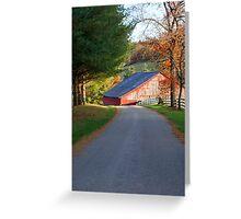 Kentucky Barns Greeting Card