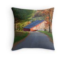 Kentucky Barns Throw Pillow