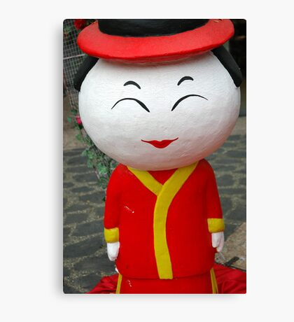 chinesse doll Canvas Print