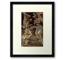 He Shall give His angel's  charge over  you    Framed Print