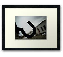 Gated - Dachau Framed Print