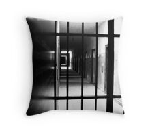 Bars - Dachau Throw Pillow