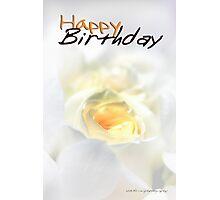 Happy Birthday © Vicki Ferrari Photographic Print