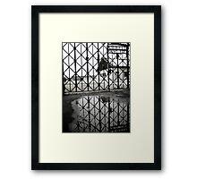 """""""Work makes one free"""" - Dachau Framed Print"""