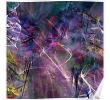 beautiful colorful abstract art Poster