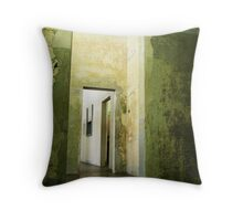 Three - Dachau Throw Pillow