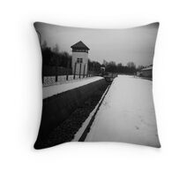 Perimeter - Dachau Throw Pillow